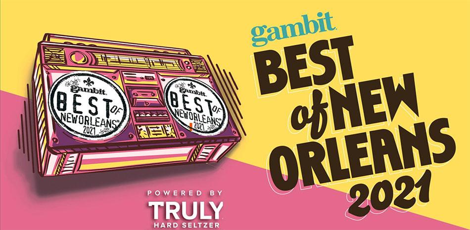gambit Best of new Orleans - 2021   MetairieRoad.org